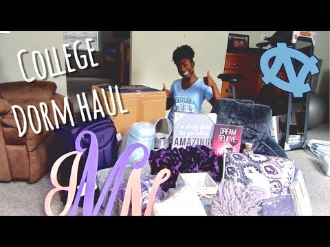 College Dorm Haul 2017! | UNC chapel hill- freshman year