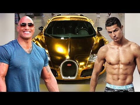 The Rock's Cars VS Cristiano Ronaldo's Cars ★ 2019