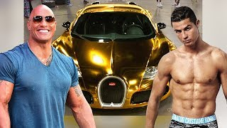 The Rocks Cars VS Cristiano Ronaldos Cars  2018