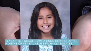Family of bullied girl who killed herself advocate for stricter anti-bullying law | ABC7
