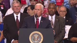 AMERICA IS BACK: Vice President Mike Pence Speech at President Donald Trump Rally Phoenix, Arizona