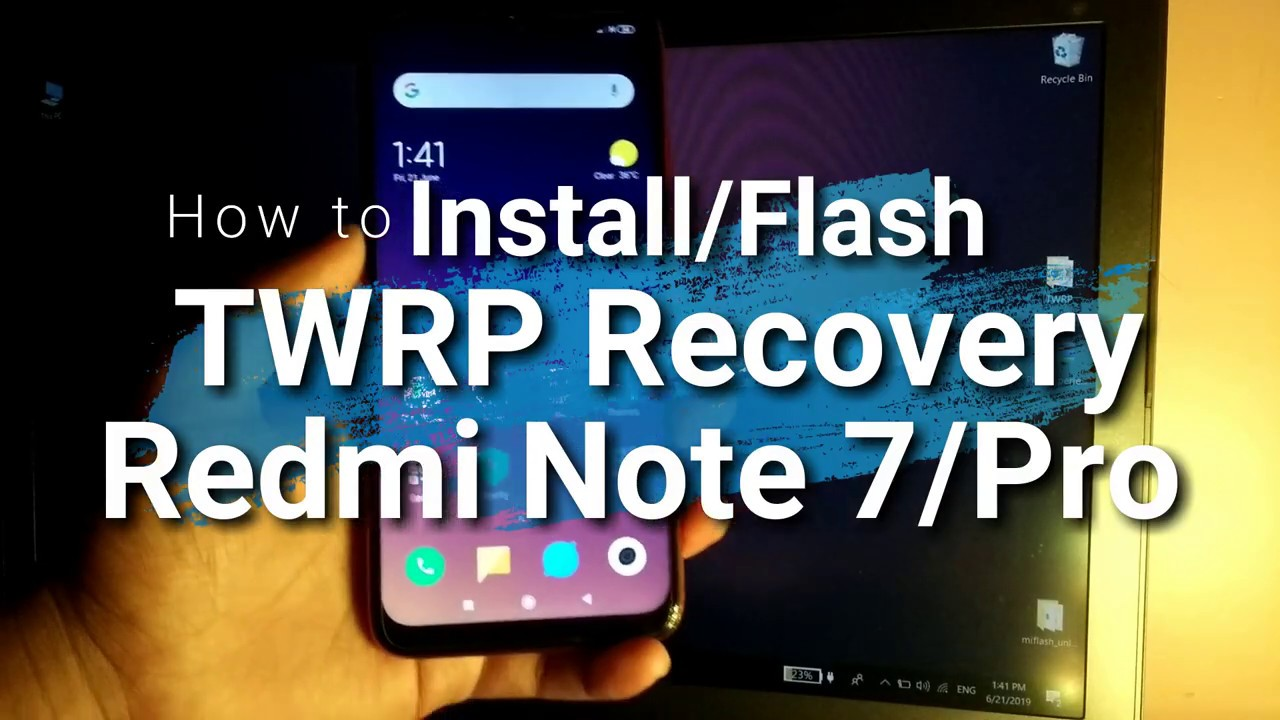 Install | TWRP Recovery| Redmi Note 7 Pro | Easy | June 2019 |