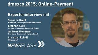 Online-Payment: Experteninterview auf der dmexco 2015  | Fairrank TV - Newsflash
