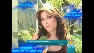 Carla Hernández asegura no tener twitter