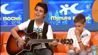 Abraham Mateo y David - YO NO ME DOY POR VENCIDO (Luis Fonsi) Menuda Noche thumbnail