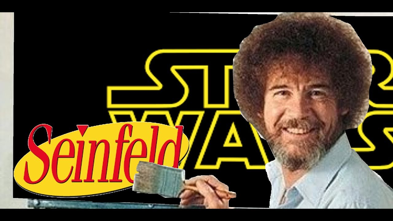 Seinfeld: Star Wars edition, featuring Bob Ross the Angel