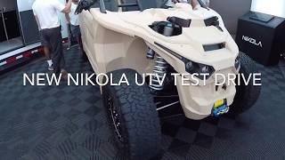 $60k 590 hp NIKOLA UTV Test Drive With Fox Shocks At Sand Sports Super Show 2018.0-60mph 3.2 Sec