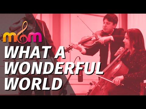 Trio d' Archi per matrimonio - What a wonderful world, musica classica matrimonio