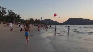 Пхукет Таиланд Закат пляж ПАТОНГ 2020 Thailand Phuket Patong