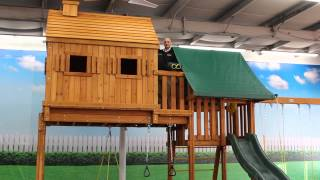The Fantasy Tree House Swing Set