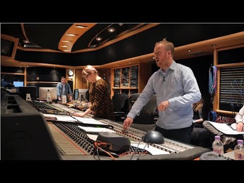 Behind The Curtain: Fly On The Wall Film Of A Large Orchestral Session At Air Studios