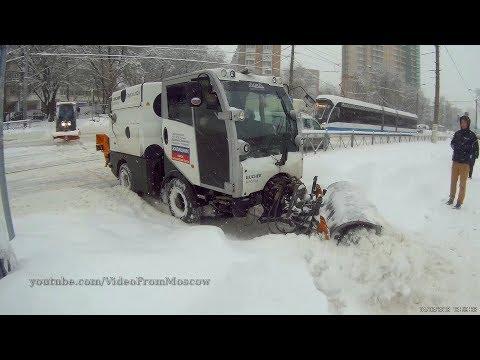 Самый сильный снегопад в Москве. 4 февраля 2018 года