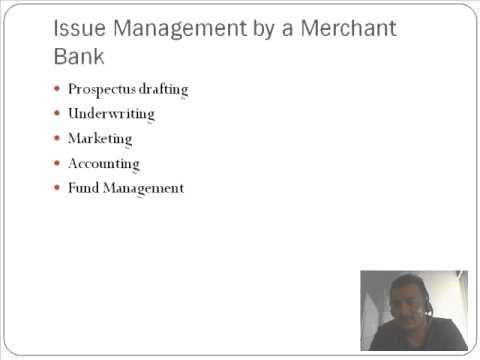 Merchant Banking - Professor Vipin