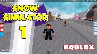 MASSERE AF SNE!? | Dansk Roblox Snow Shoveling Simulator | Ep 1