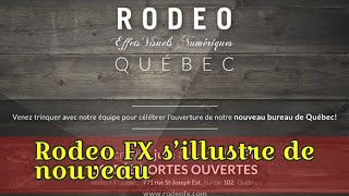 Rodeo FX s'illustre de nouveau