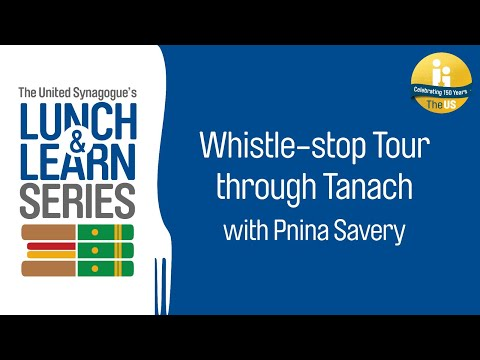 US Lunch & Learn: Whistle-stop Tour Through Tanach With Pnina Savery Episode 4 - Trei Asar Amos