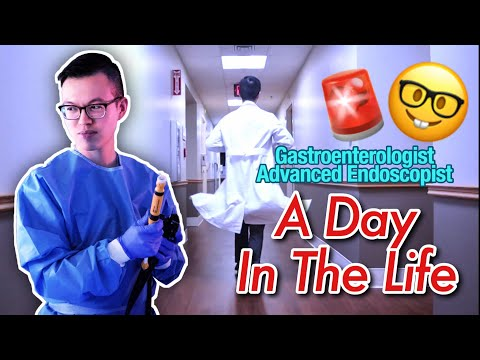 A DAY IN THE LIFE Of A Doctor: Gastroenterologist + Advanced Endoscopy