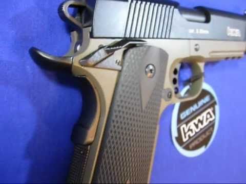 KWA 1911 Mark IV Airsoft Gun - Full Metal