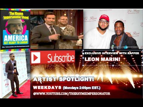 Richard Olivier Jr. Exclusive Interview with HIp-Hop Artist: Leon Marin!