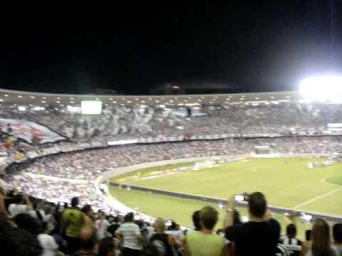Botafogo Atmosphere at the Maracana Stadium