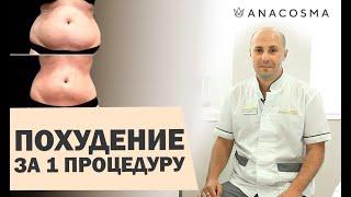 постер к видео Как похудеть за 1 СЕАНС: медицинский криолиполиз Cristal | АНА КОСМО
