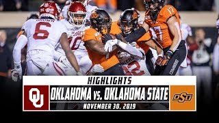 Oklahoma's offense racked up 450 yards of total offense, and the sooners defense forced two costly oklahoma state turnovers as ou downed cowboys 34-16. c...