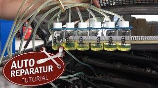 So erkennst du defekte Injektoren - Rücklaufmenge Messen mit dem Common Rail Tester | DIY Tutorial