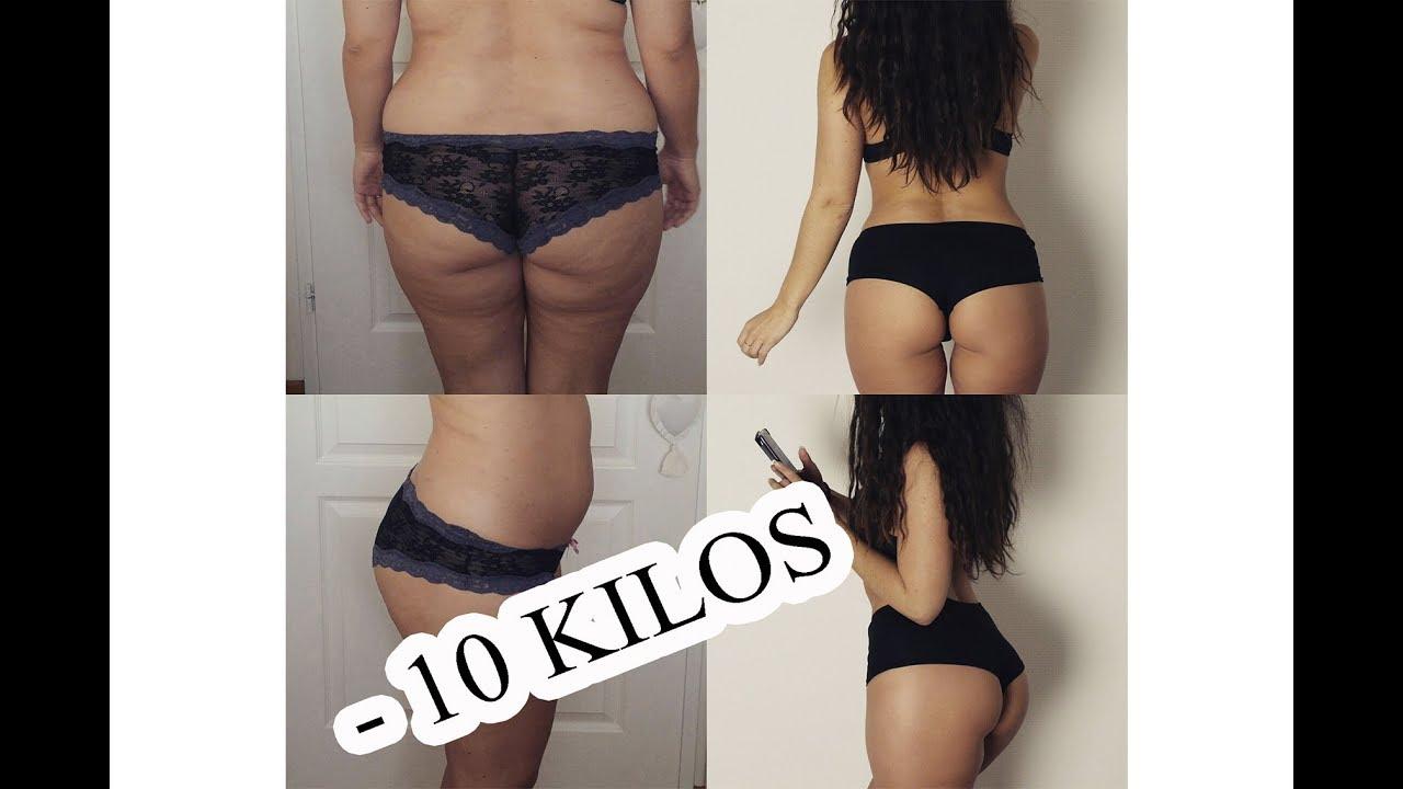 perte de poids 1 mois avant apres