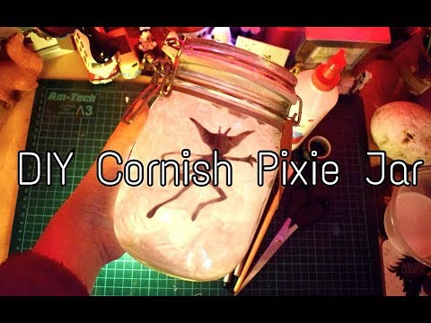 picture relating to Printable Cornish Pixies identified as Do-it-yourself - How in the direction of produce a Harry Potter Cornish Pixie evening gentle jar