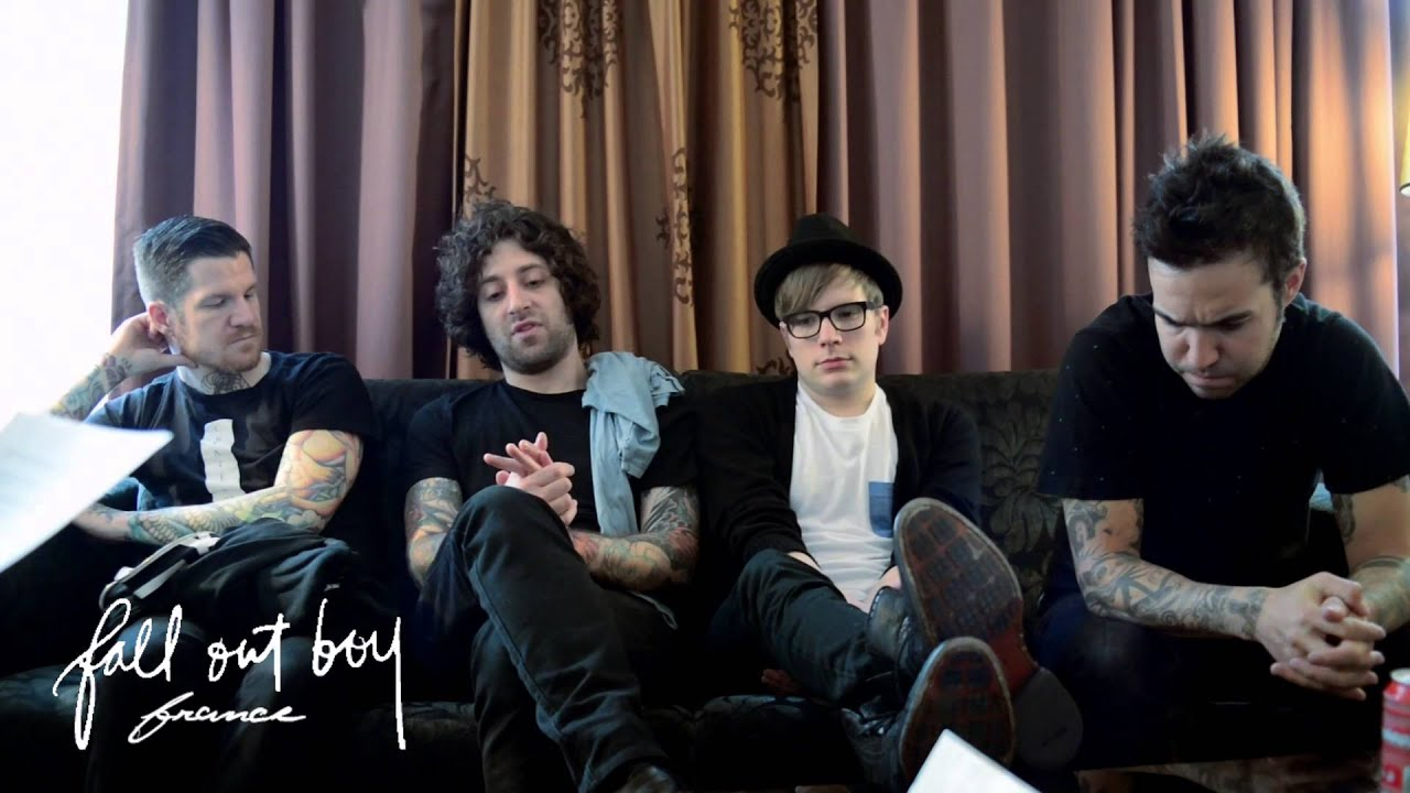 Fall Out Boy Wallpaper 2013 Fall Out Boy Interview 2013 Paris France Fall Out Boy