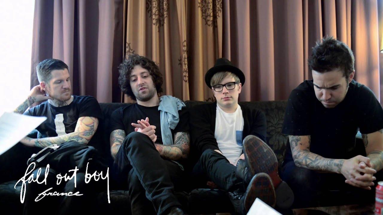 Fall Out Boy Wallpaper 2013 Fall Out Boy Interview 2013 Paris France Fall Out Boy