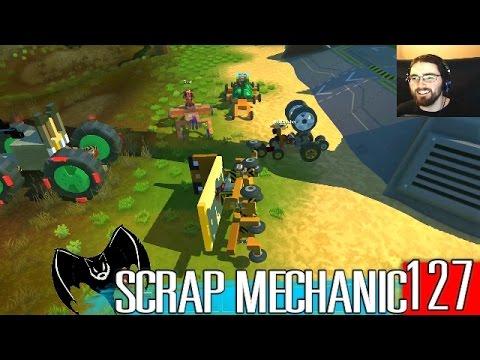 "Scrap Mechanic Maniacs 127 ""Telephone Game! No Dial Tone"""