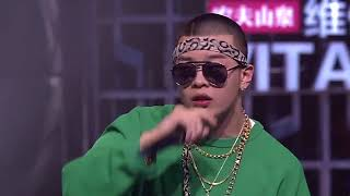 BrAnT.B 小白│60秒淘汰賽│中國有嘻哈 第二期