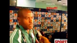Vincent Enyeama reacts to Nigeria