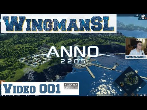 Let's Play || Anno 2205 - 001 - (Gründung meiner Firma - Ers