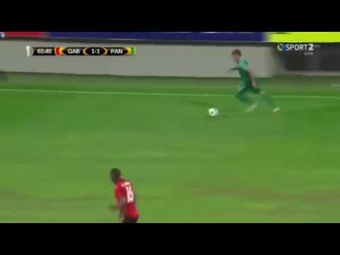 Gol de Bryan Cabezas. FK Qabala 1-2 Panathinaikos. UEFA Europa league 2017