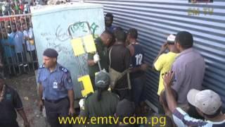 Man Electrocuted at Boroko While Urinating