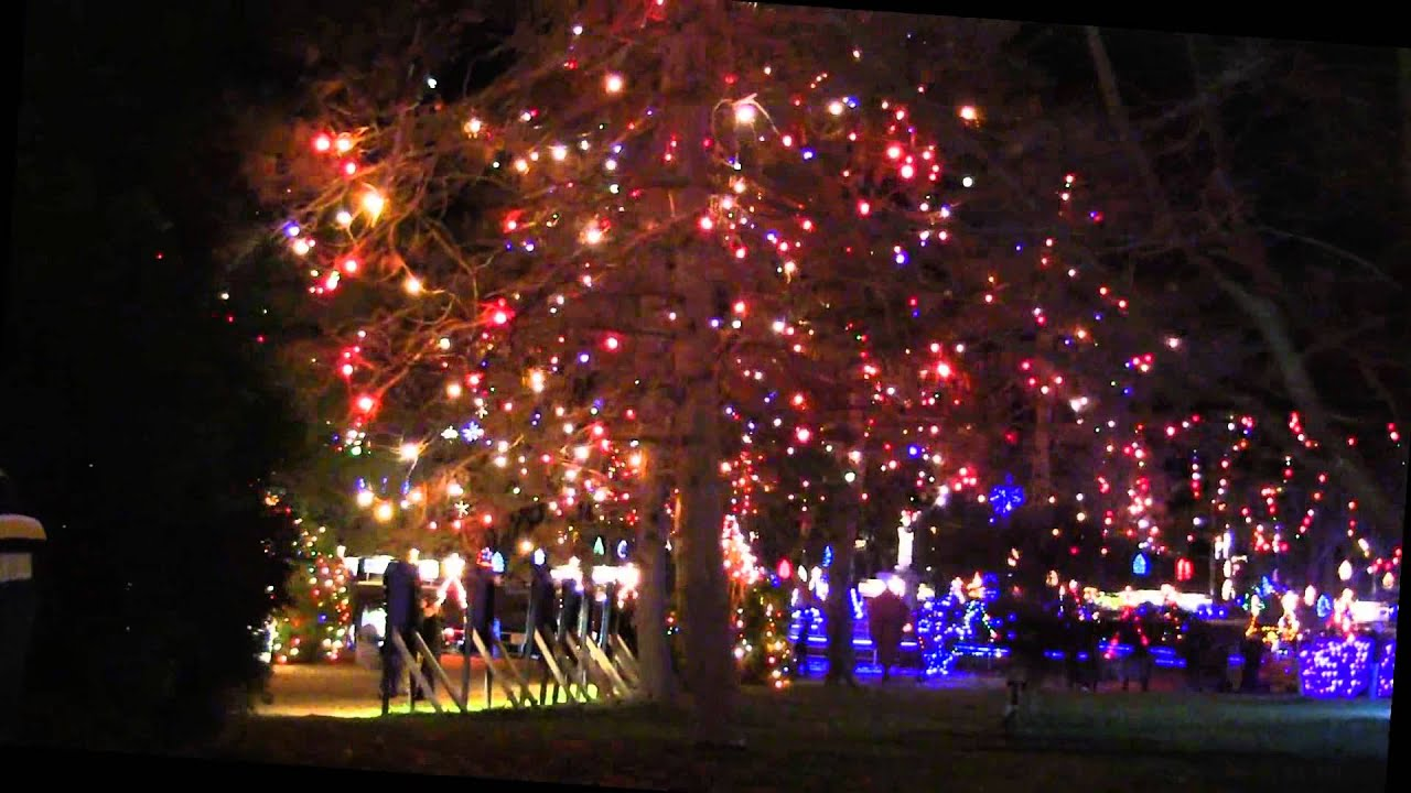 LaSalette Shrine - Xmas Lights - YouTube
