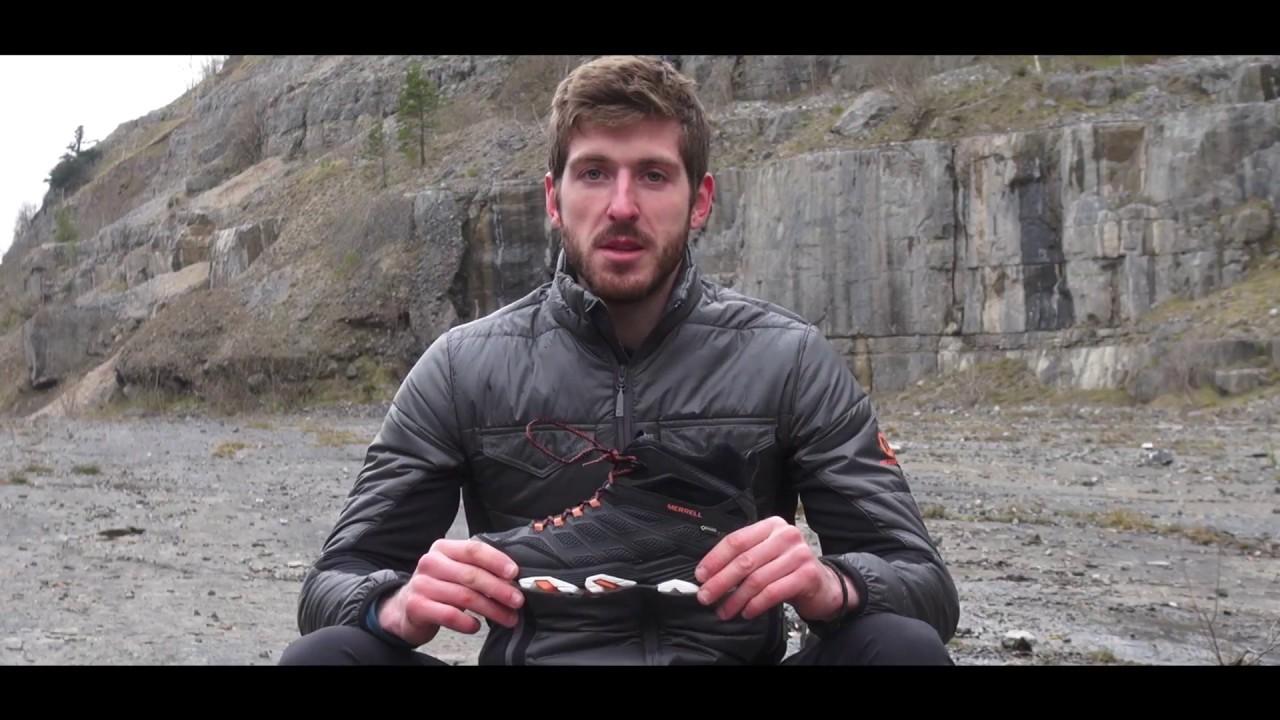 merrell moab fst mid waterproof boot video