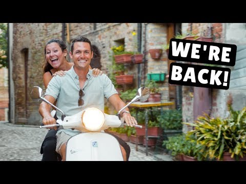 WHERE WE'VE BEEN... Italy Vespa Tour