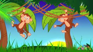 Animals in the Jungle | Toddler Nursery Rhymes | Kids Songs | Preschool