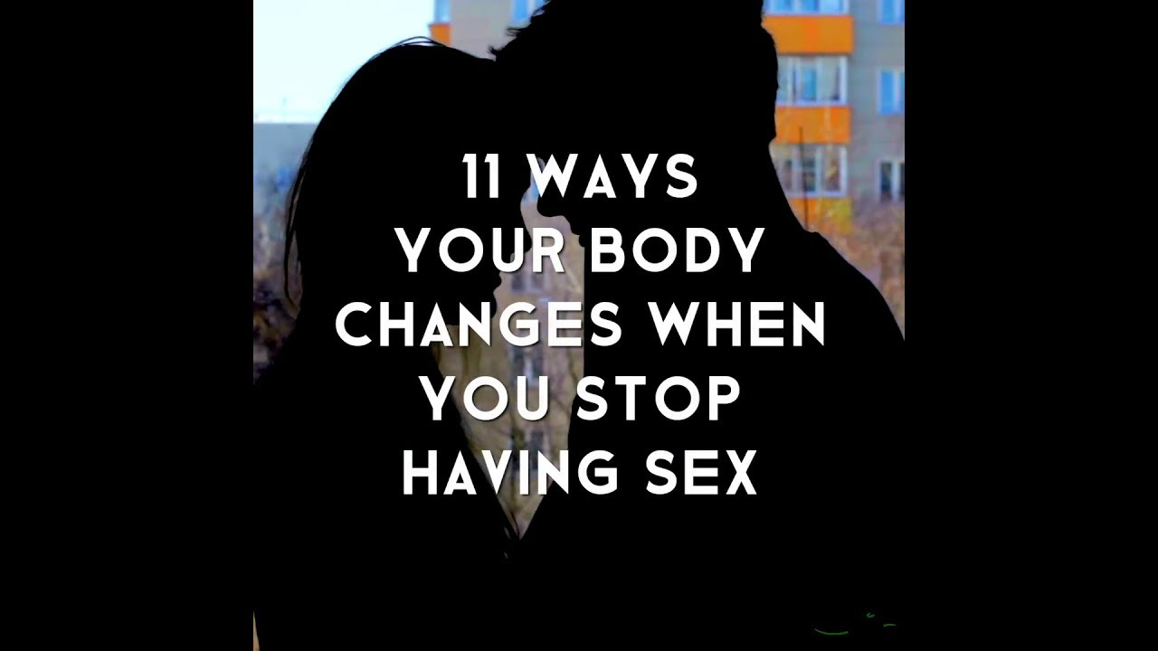After sex does your body change