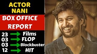 Nani Career Box Office Collection Analysis Hit, Flop and Blockbuster Movies List