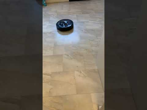 See the iRobot Roomba i7+ Robot Vacuum With Clean Base and Automatic Dirt Disposal in Action
