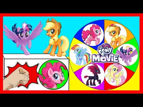 Spin the Wheel My Little Pony Game with Paw Patrol Skye Surprise Toys | Ellie Sparkles