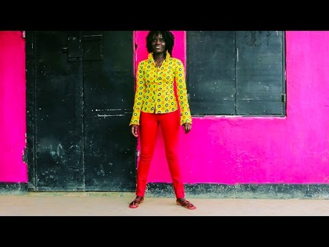 Documentary - African women - Fashion designer Peace Malleni. Tanzania, Africa.