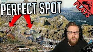 PERFECT SPOT! - PlayerUnknown's Battlegrounds #64 (PUBG DUOS Gaemplay) w/ Levelcap & StoneMountain64