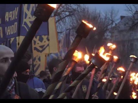 Ukrainian officials celebrate genocidal nationalist