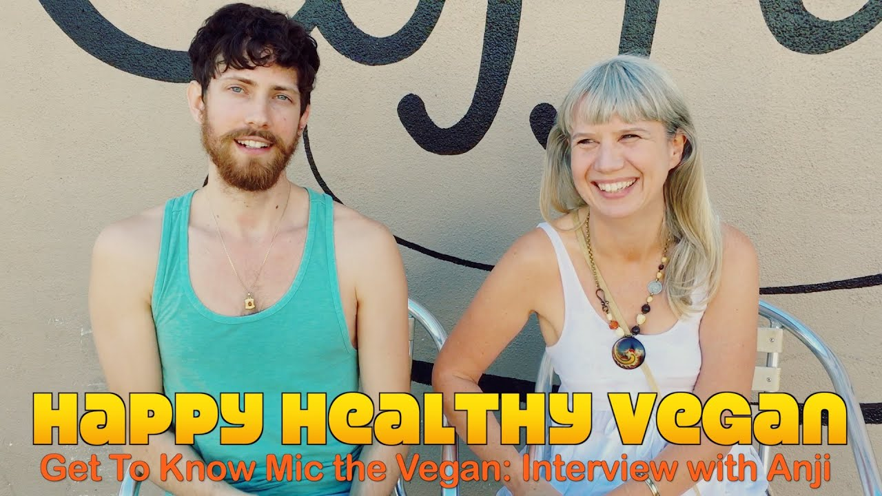 Awesome New YouTuber: Mic the Vegan Interviewed
