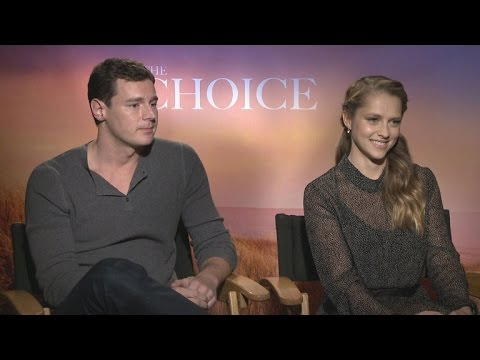 'The Choice' Stars Reveal How Their Spouses REALLY Feel About Those Steamy Love Scenes